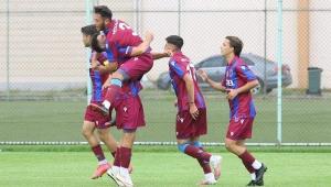 Trabzonspor U19 takımı Beşiktaş'ı 8-2 mağlup etti