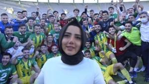 Türkiye'nin şampiyon ilk kadın başkanı Cevher Erdem oldu