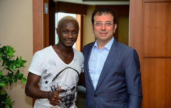 Yattara:Ekrem İmamoğlu'nun Trabzonspor'a transferimde büyük rolü vardı