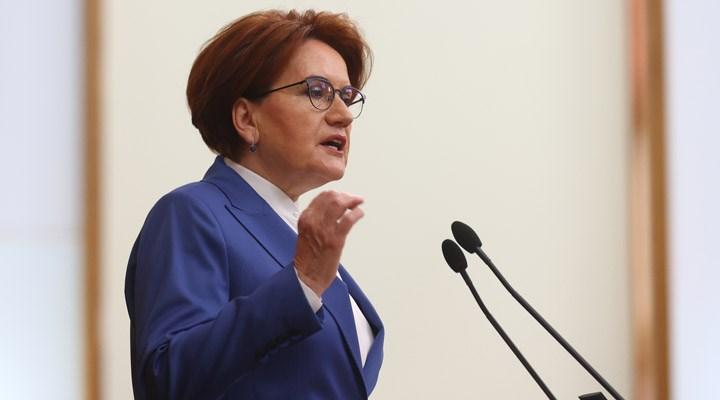Akşener: Cumhurbaşkanlığı seçimlerinde Millet İttifakı tek aday çıkarmalı