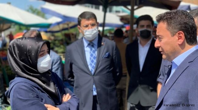 Babacan'dan esnafa: Yıkmaya değil, yapmaya geliyoruz