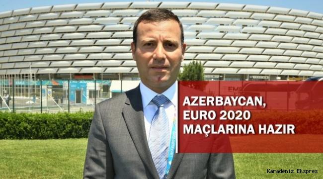 Bakü'de, EURO 2020 karşılaşmalarına ev sahipliği yapacak olmanın heyecanı yaşanıyor