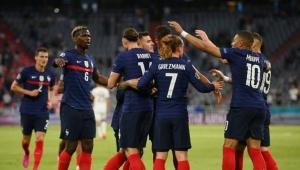 Günün maçında ; Fransa Almanyayı 1-0 yendi