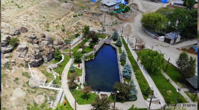 Her yer kuruyor, bu gölün su seviyesi artıyor