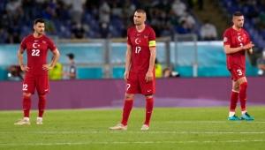 İtalya maçında Milli Takım rakip kaleye gidemedi...