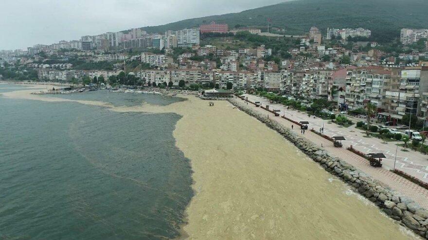 Marmara 'dan sonra deniz salyası Karadeniz'de