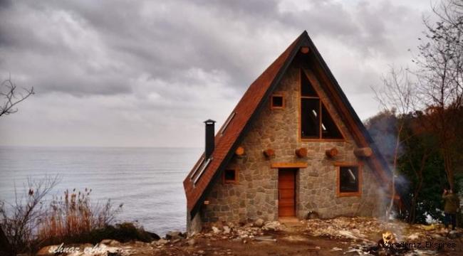 Ordu'nun Perşembe ilçesinde Kuzey Yıldızı dizisi için inşa edilen ev ve evin arazisi mahkemelik oldu
