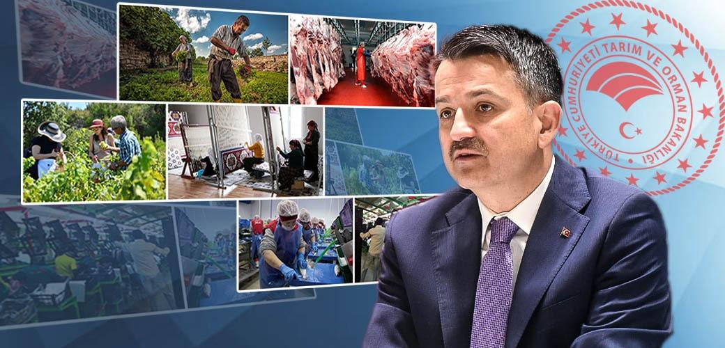 Tarım ve Orman Bakanı Bekir Pakdemirli: 'Çiftçiye 100 Bin TL Hibe Veriyoruz Bunu Baba Oğluna Yapmaz'