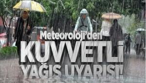 Meteorolojik Uyarı! Ordu ve Giresun Çevrelerindeki Kuvvetli Sağanak Yağışlara Dikkat!