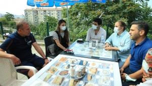Teknik Direktör Abdullah Avcı'dan Akçay ailesine ziyaret