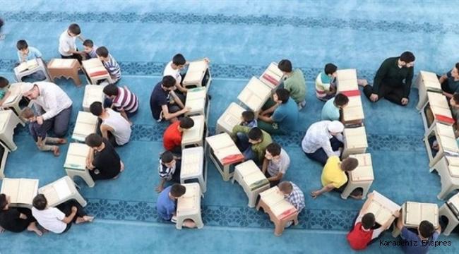 Yaz Kur'an kursları pazartesi çocuk sesleriyle şenlenecek