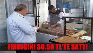 Fındığını TMO'ya 30.50 TL'ye sattı