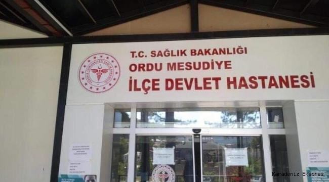 MESUDİYE DEVLET HASTANESİNE DOKTOR ATAMASI