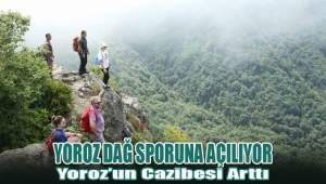 Yoroz Dağ Sporuna Açılıyor