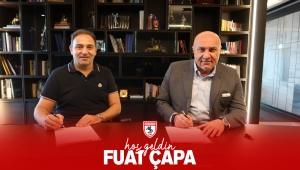 Samsunspor Teknik Direktör Fuat Çapa ile sözleşme imzaladı