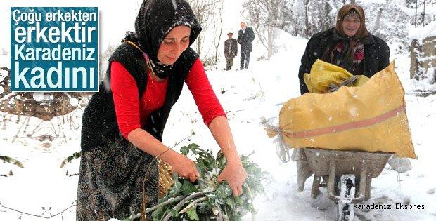Karadeniz'de kış yaşamı zorlaştırıyor
