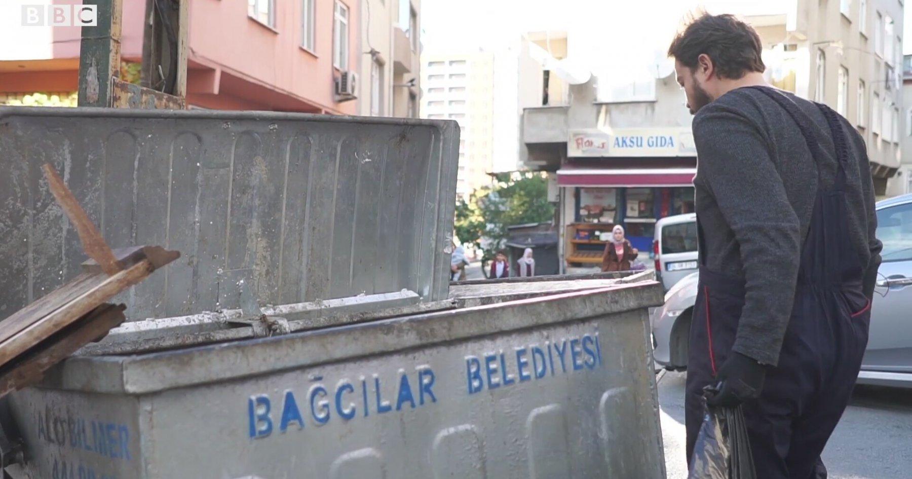 Çöplerden semt analizi: Bağcılar - Etiler