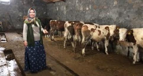 Köyüne döndü yılın kadını oldu – Yalçınlar Köyü