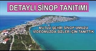 SİNOP TANITIM VİDEOSU, SİNOP'TA GEZİLECEK YERLER
