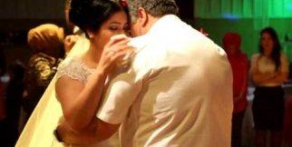 Duygusal anlar...Baba kızın dansı